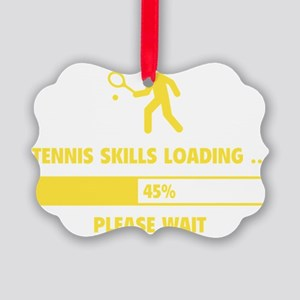 LoadingTennis1E Picture Ornament