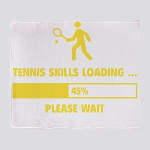 LoadingTennis1E Throw Blanket