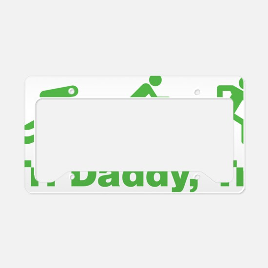 triaIDaddy1E License Plate Holder