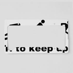 triaKeepup1A License Plate Holder