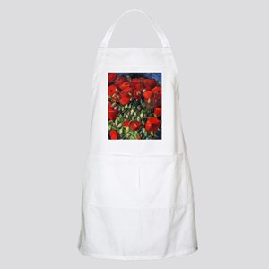 Van Gogh Red Poppies Apron