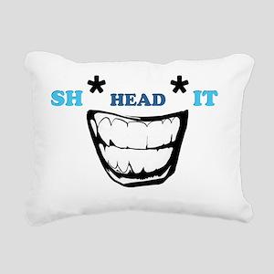 Sh Head It Rectangular Canvas Pillow