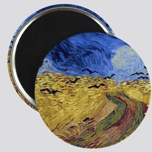 Wheatfield with Crows Magnet