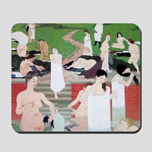 Felix Vallotton The Bath Summer Evening Mousepad