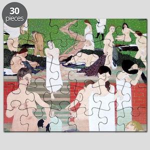 Felix Vallotton The Bath Summer Evening Puzzle