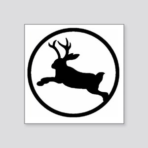 "Jackalope Square Sticker 3"" x 3"""