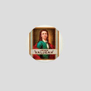 Jean Valjean Tobacco Label Mini Button