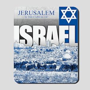 Jerusalem, Israel Mousepad
