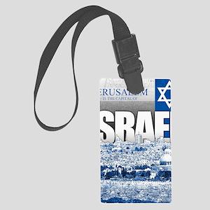 Jerusalem, Israel Large Luggage Tag