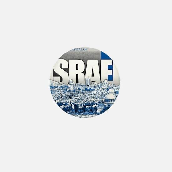 Jerusalem, Israel Mini Button