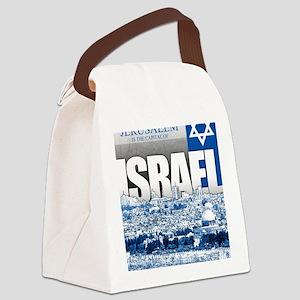 Jerusalem, Israel Canvas Lunch Bag