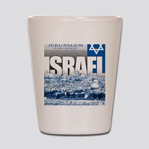 Jerusalem, Israel Shot Glass