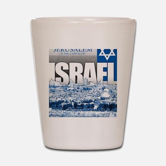 Jerusalem, Israel Shot Glass