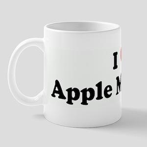 I Love Apple Martini's Mug