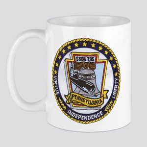 USS PENNSYLVANIA Mug