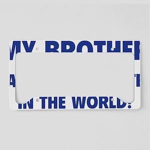 brotherBestSister1C License Plate Holder