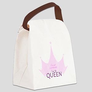 Queen (not Princess) Canvas Lunch Bag