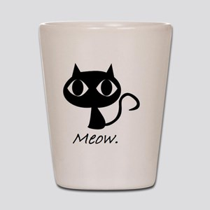 Meow. Shot Glass