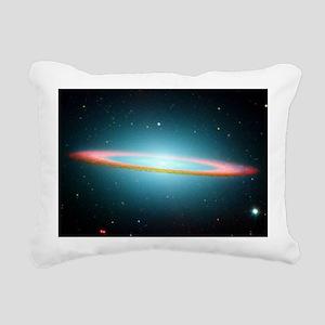 Hubble Image Rectangular Canvas Pillow