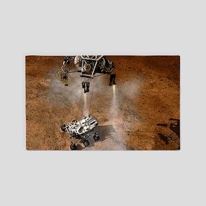 Curiosity Touchdown 3'x5' Area Rug