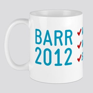 barr 2012 Mug