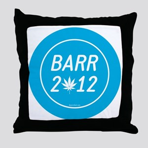 Barr 2012 Weed Throw Pillow