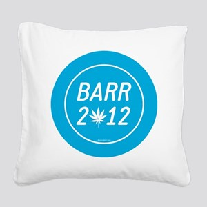 Barr 2012 Weed Square Canvas Pillow