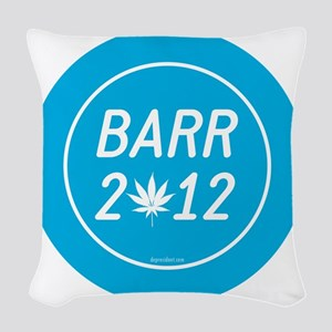 Barr 2012 Weed Woven Throw Pillow