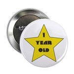 1 YEAR OLD - Birthday Button