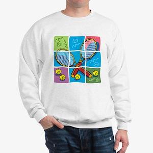 Tennis Puzzle Sweatshirt