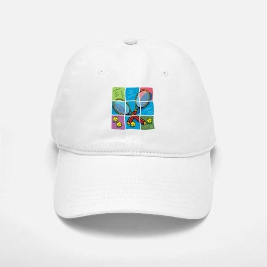 Tennis Puzzle Cap