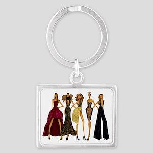 Group Divas Landscape Keychain
