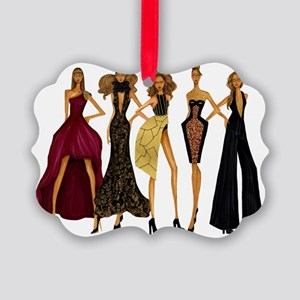 Group Divas Picture Ornament