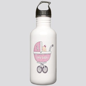 Vintage Chick New Baby Stainless Water Bottle 1.0L