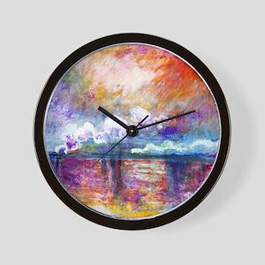 Claude Monet Charing Cross Bridge Wall Clock