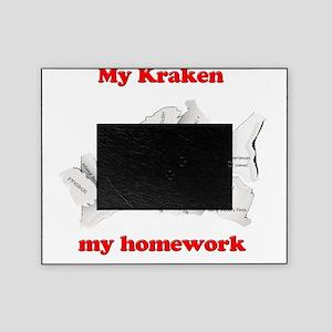 My Kraken ate my homework Picture Frame