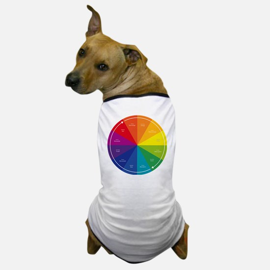 The Color Wheel Dog T-Shirt