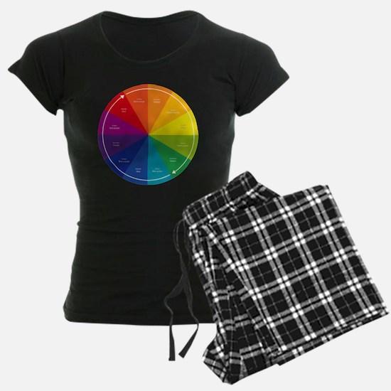 The Color Wheel Pajamas