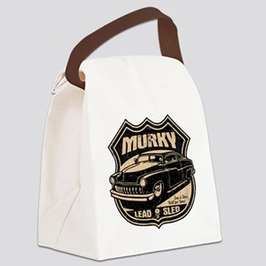 lead-sled-T Canvas Lunch Bag
