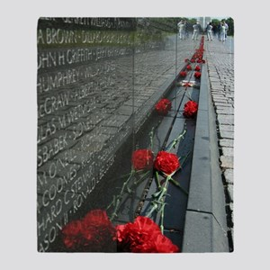 Vietnam Veterans Memorial with Washi Throw Blanket