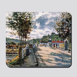 The Seine at Bougival Mousepad