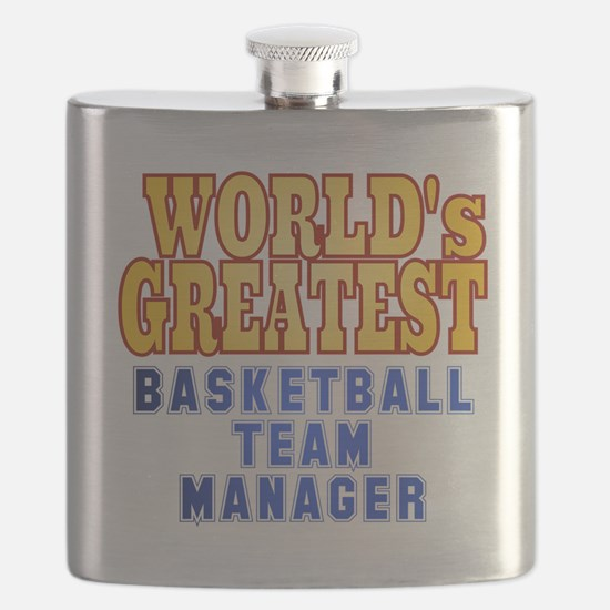 World's Greatest Basketball Team Manager Flask