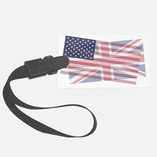UK/US blended Luggage Tag