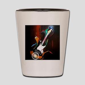 Guitar Melody Shot Glass