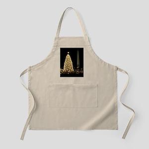 White House Christmas Tree with Washington M Apron