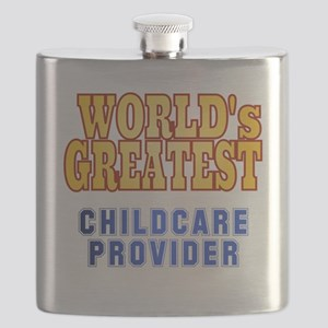 World's Greatest Childcare Provider Flask