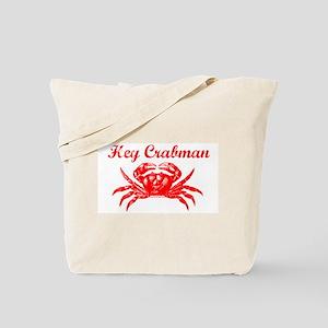 Hey Crabman Tote Bag
