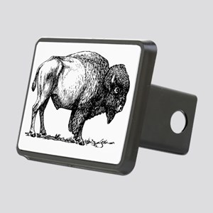 Buffalo/Bison Shirt Rectangular Hitch Cover