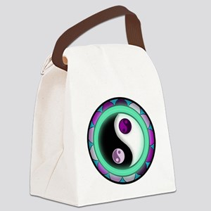 Glowing Zen Canvas Lunch Bag