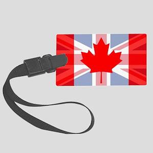 UK/Canada Large Luggage Tag